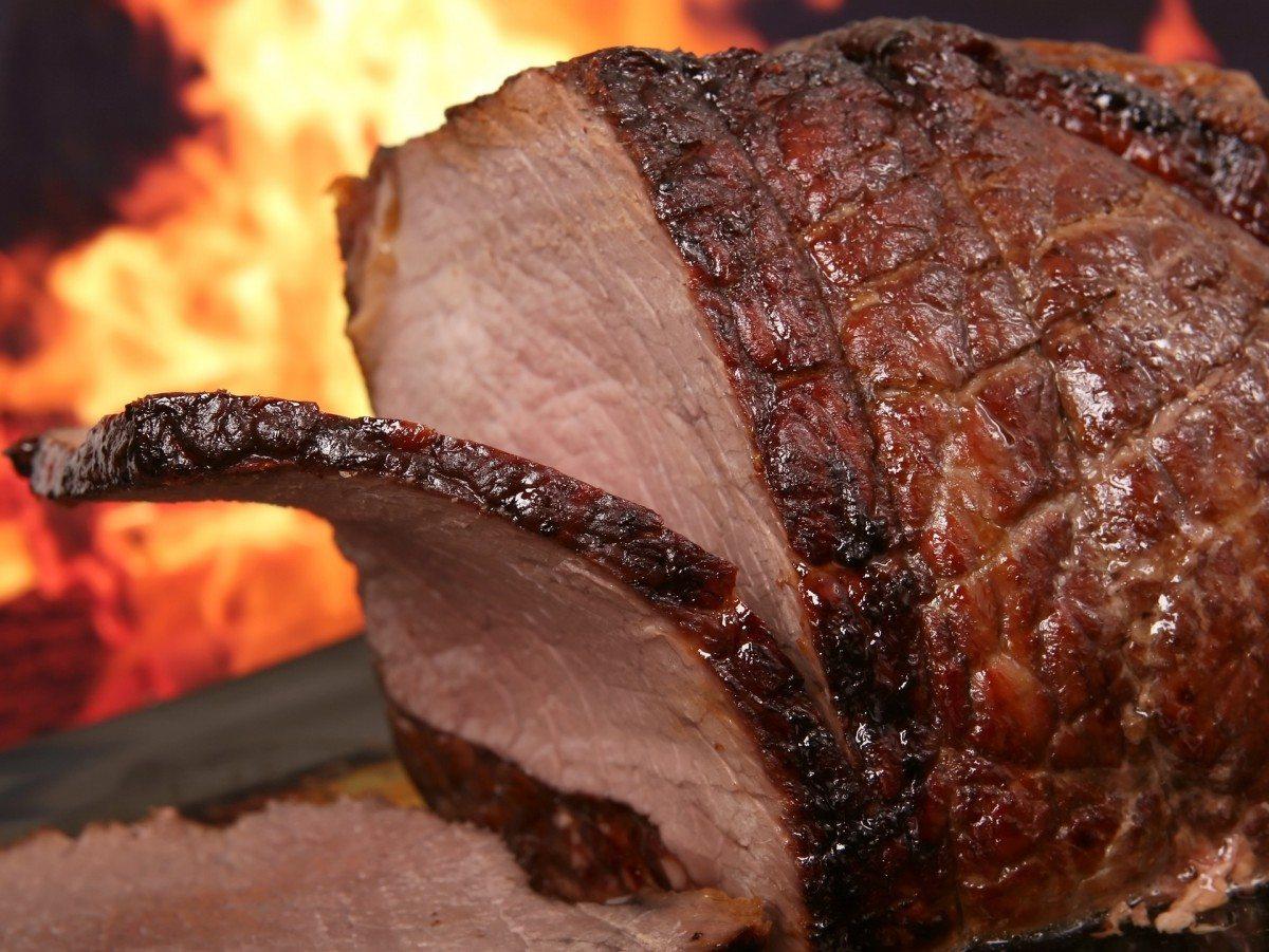 Простой мяса в духовке фото