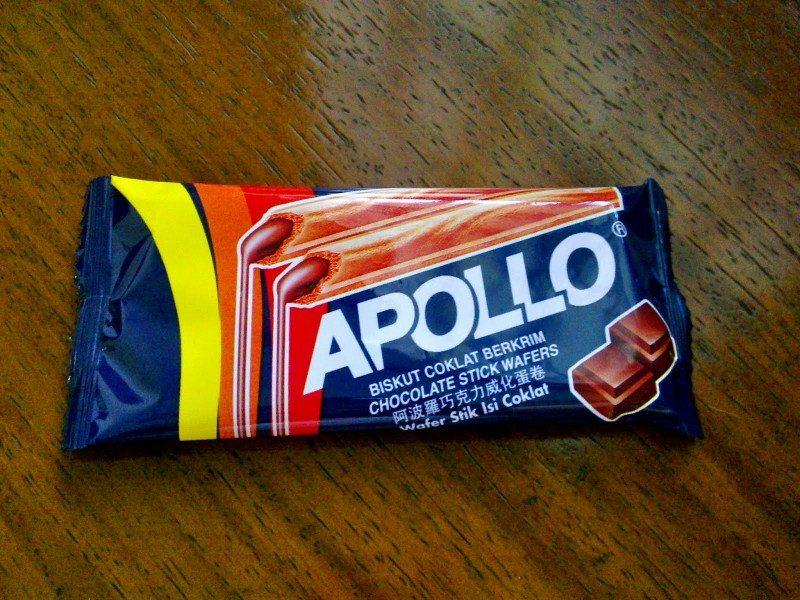 Apollo Chocolate Stick Wafers