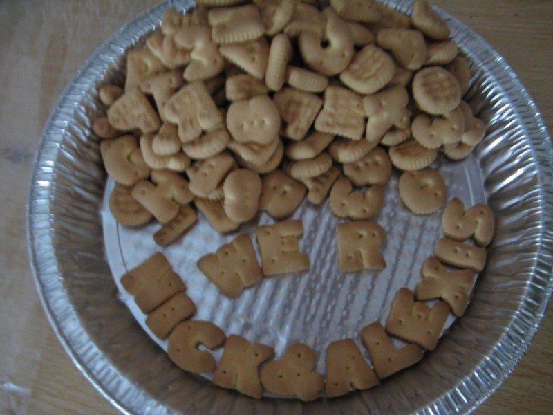 Alphabet Biscuits