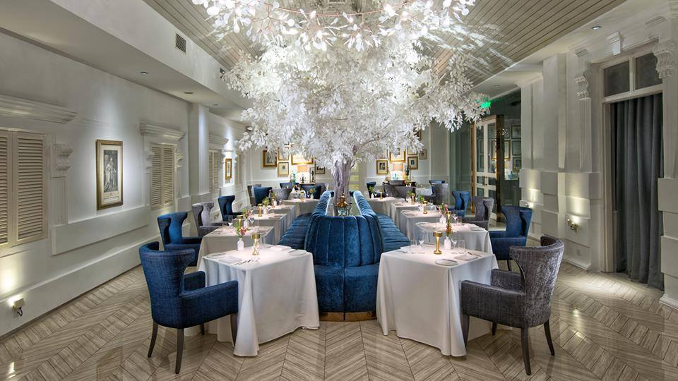 Macalister mansion dining
