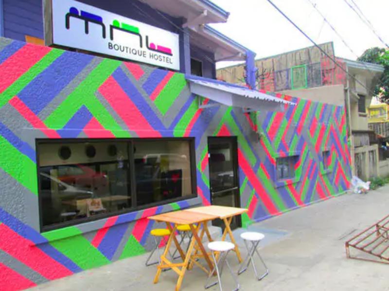 MNL hostel exterior
