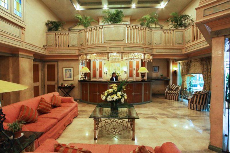 manila manor hotel lobby