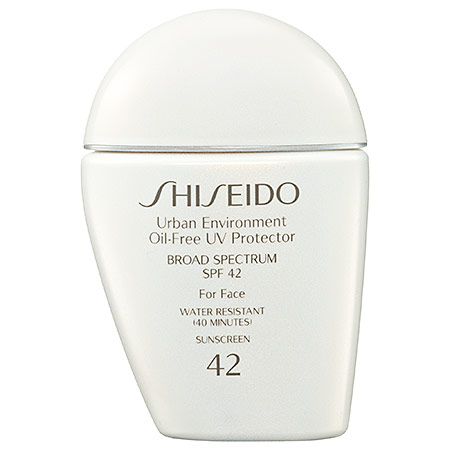 Shiseido Urban Environment Oil-Free UV Protector Broad Spectrum SPF 42 For Face