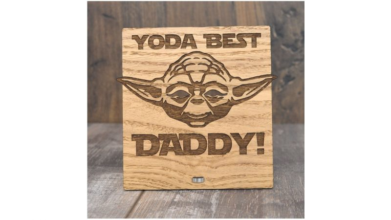 Star Wars Display for Dad