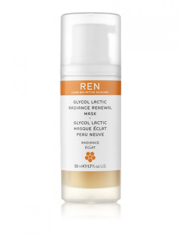 REN Glycolatic Radiance Renewal Mask 50ml
