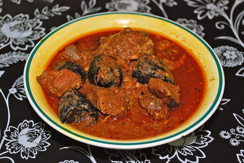 ayam buah keluak black candlenut spicy red chicken nyonya peranakan singapore