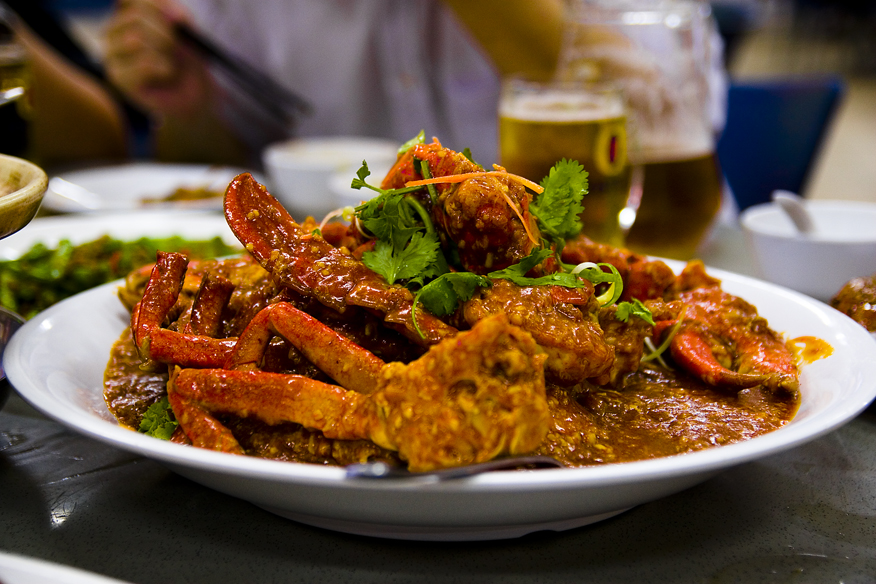 chili crab singapore dish spicy mud crap red