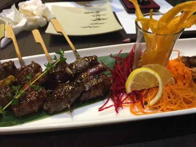 Shin Minori Skewered Meat
