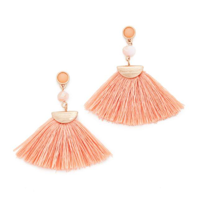Shashi Mia Tassel Fan Earrings