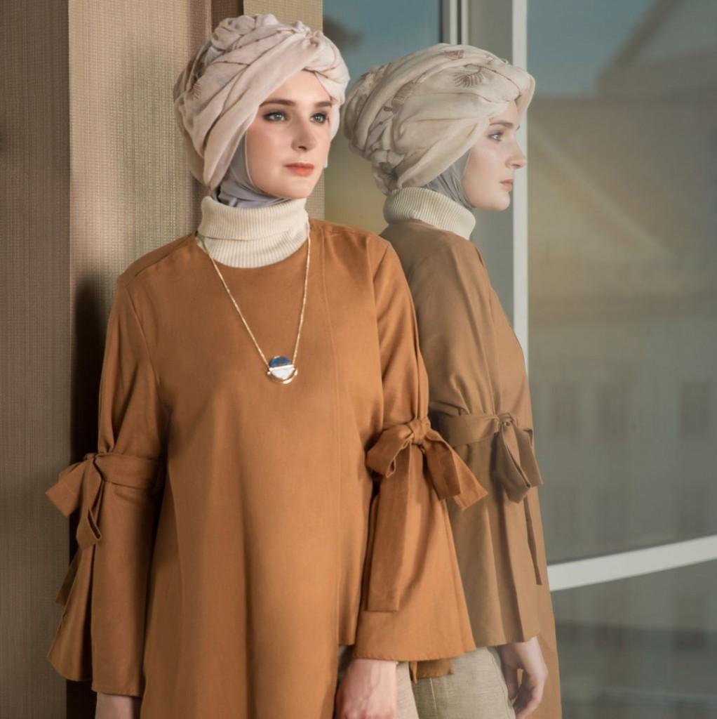 jilbab berlapis