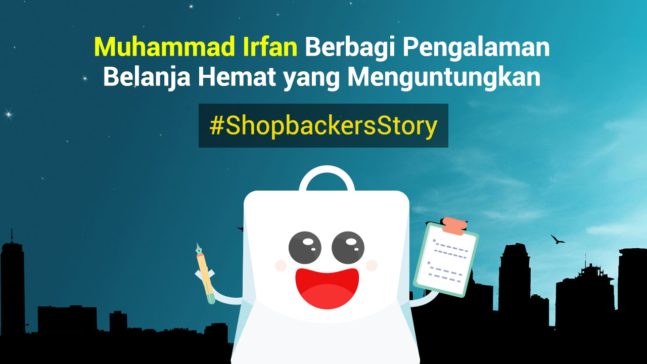 Muhammad Irfan Berbagi Pengalaman Belanja Hemat yang Menguntungkan
