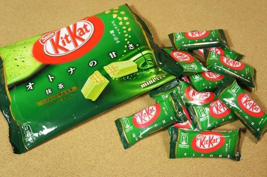 kit kat green tea