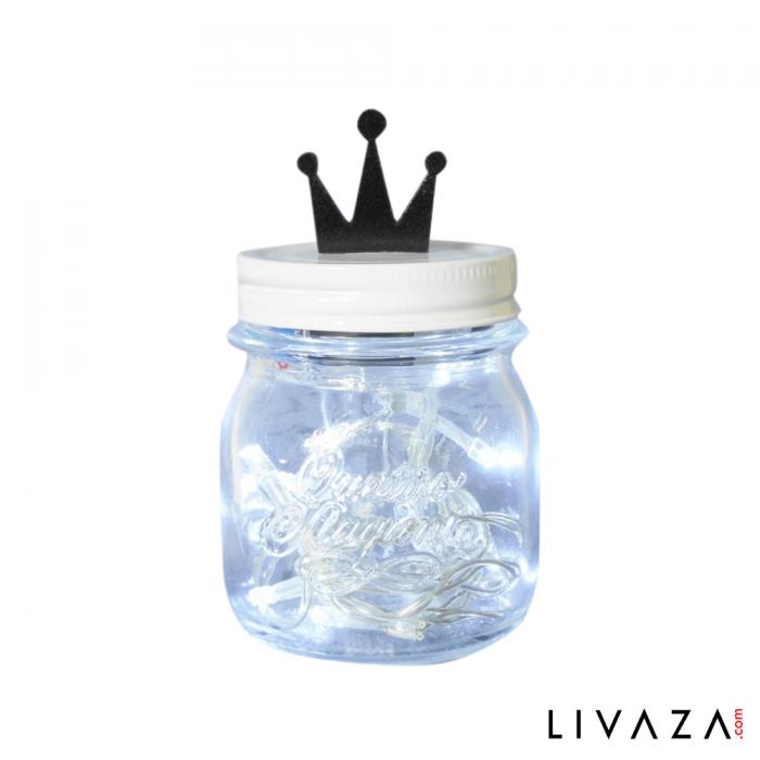 Lampu Hias Mini Jar Lamp - King