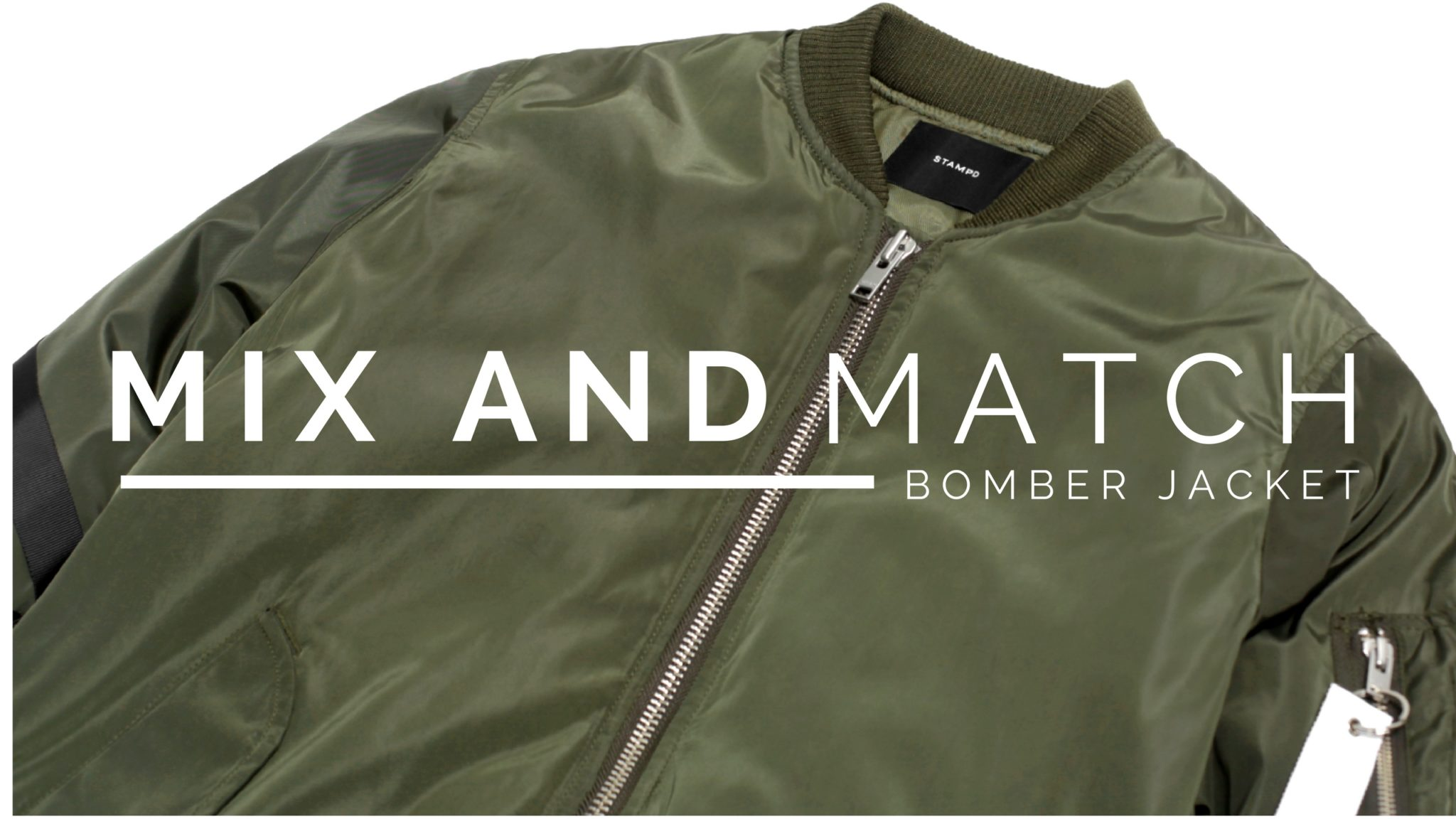 10 Item Mix and Match Bomber Jacket