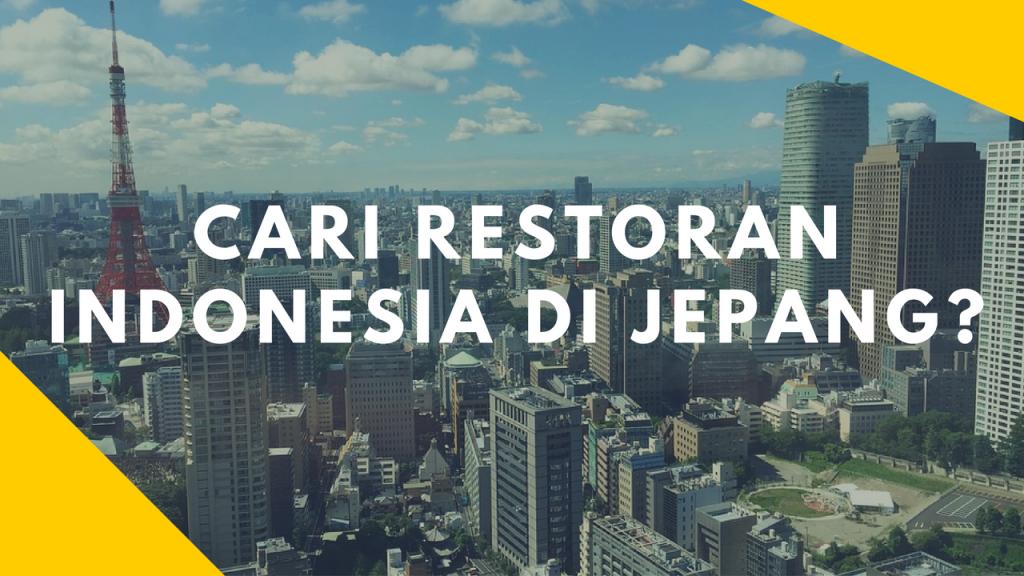 restoran indonesia di jepang