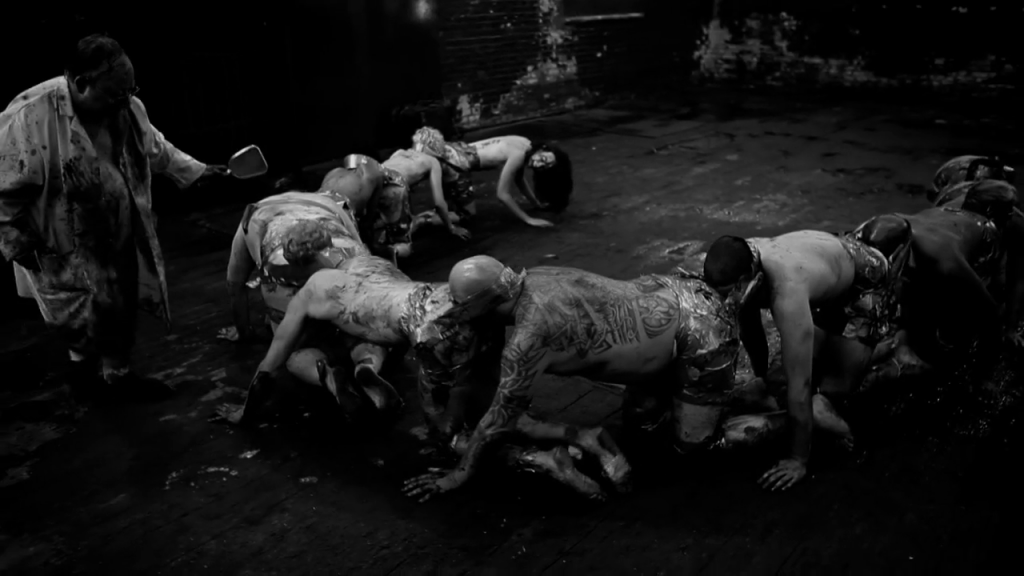 martin and the human centipede