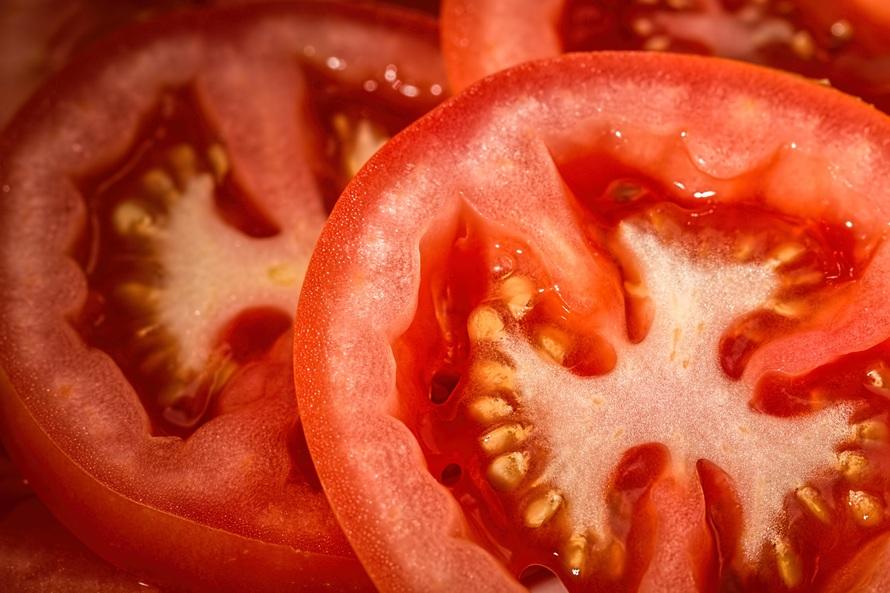 MASKER WAJAH ALAMI tomat