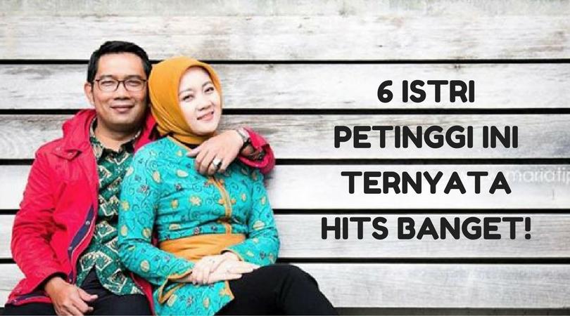 6 Istri Petinggi Indonesia yang Nggak Kalah Hits dari Selebgram