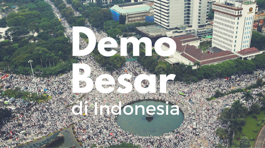 demonstrasi di indonesia