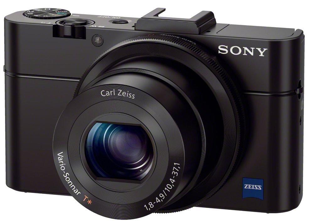Sony Cyber-Shot DSC-RX100 M2 - Hitam