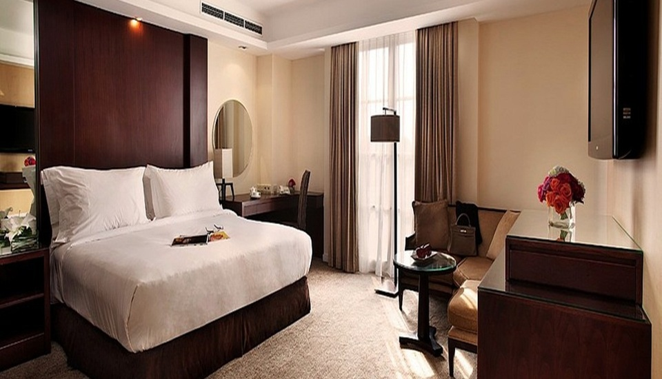 5 hotel staycation di jakarta buat para newly weds dari for Dekor kamar hotel buat ulang tahun