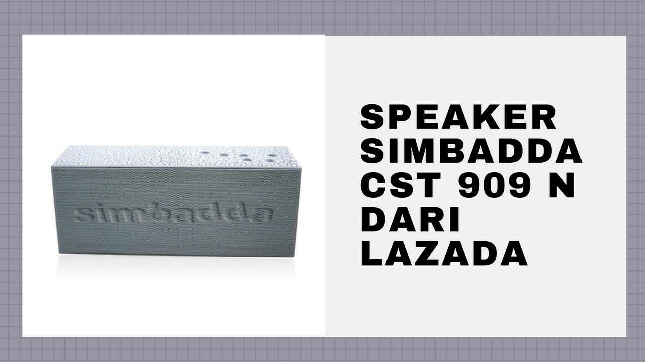 Simbadda CST 909 N, Speaker Seru di Lazada