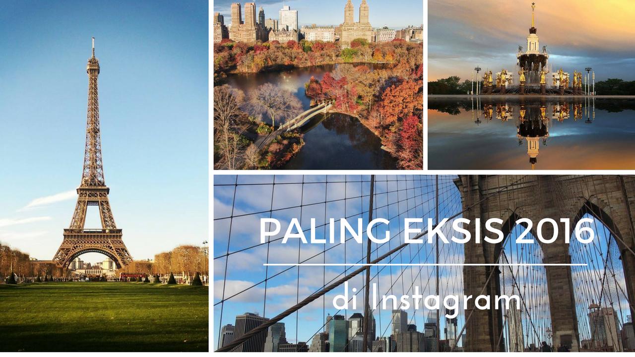 10 Spot Paling Eksis di Instagram Tahun 2016