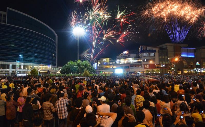 la piazza tahun baru
