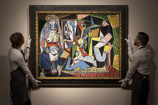 "Les Femmes d'Alger (""Versi O""), Pablo Picasso"