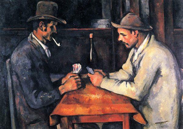 Pemain Kartu, Paul Cezanne