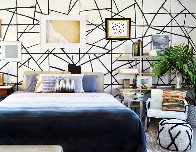 74 Gambar Dinding Kamar Geometris Terbaik