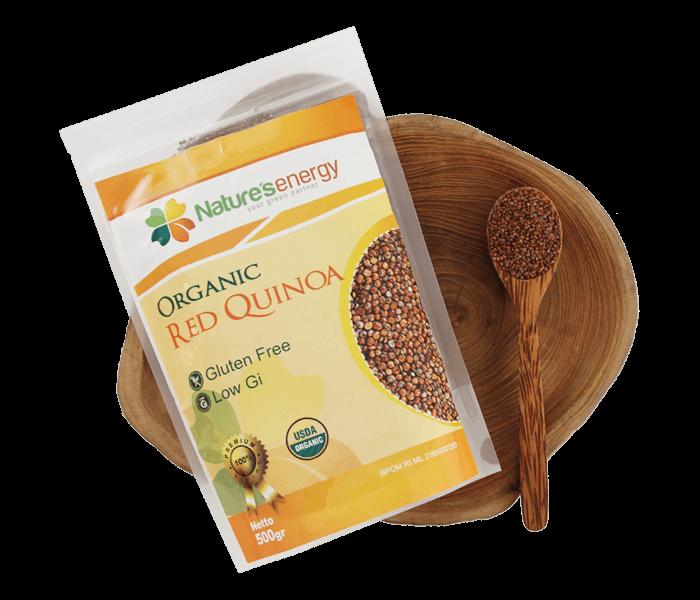 Nature's Energy Quinoa Seeds Red