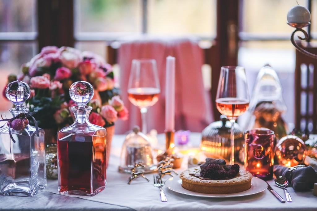 Hadiah Valentine Makan malam romantis