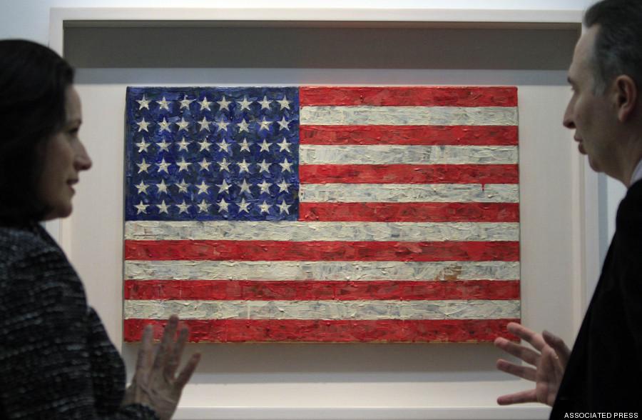 Flag, Jasper Johns