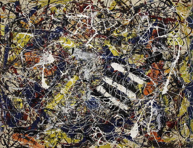 Number 17 A, Jackson Pollock