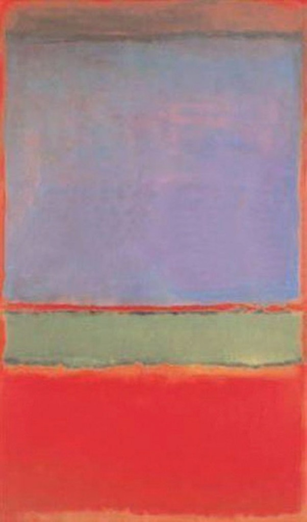 No. 6 (Violet, Hijau dan Merah), Mark Rothko
