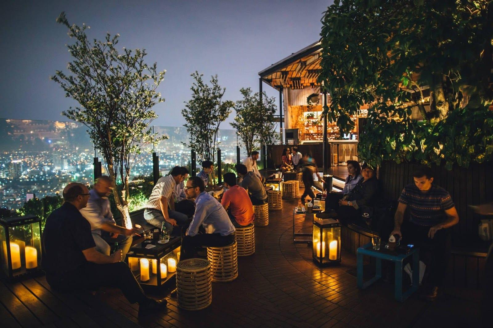 skye restoran romantis