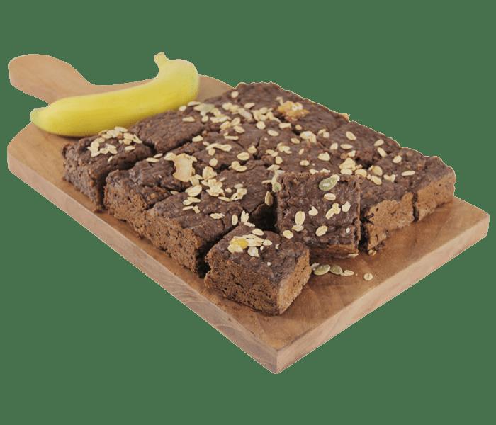 Goodiebake Vegan Chocolate Oat Banana Cake