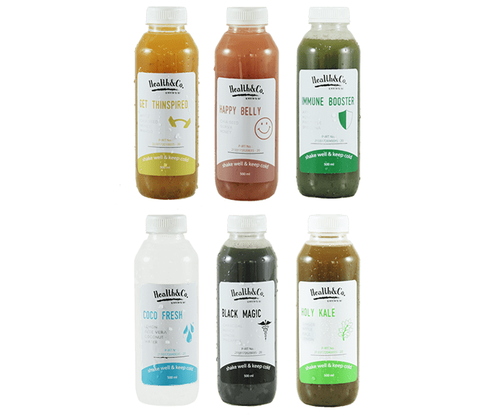 Health & Co 1 Day Detox Package