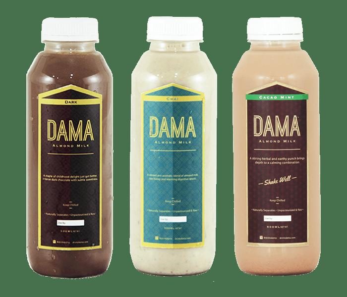 Dama Almond Milk Signature Pack of 3
