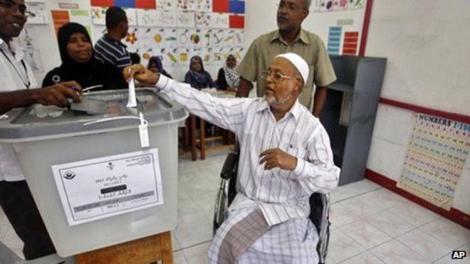 Hanya muslim yang memiliki hak pilih di Maladewa
