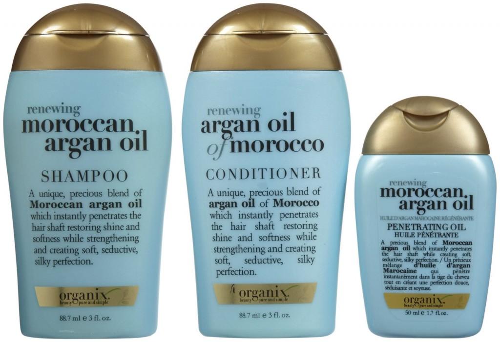 Organix Renewing Moroccan Oil Argan Oil 3 Piece Starter Kit