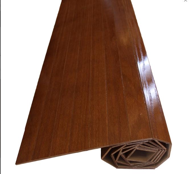 Wood carpet / Karpet Kayu Oak Veneer - Natural