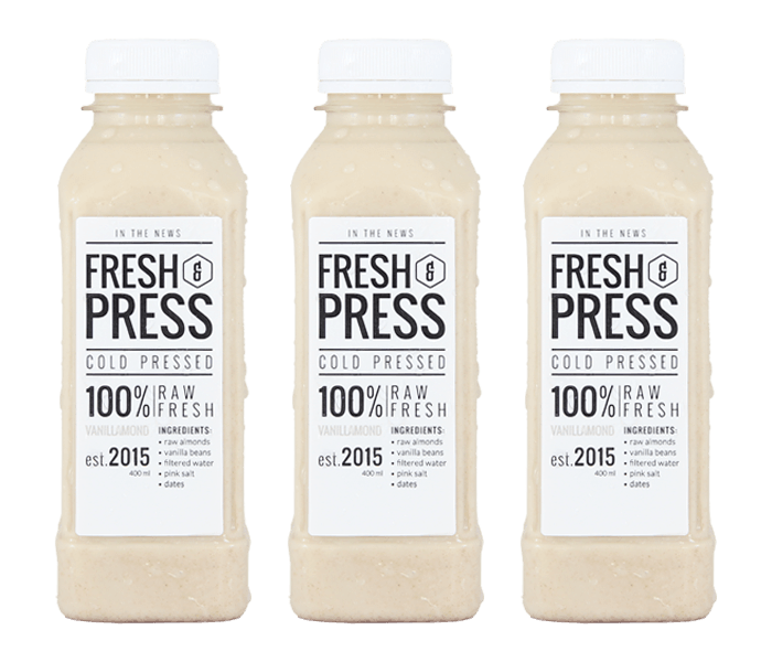 Press Vanillamond Almond Milk Pack of 3