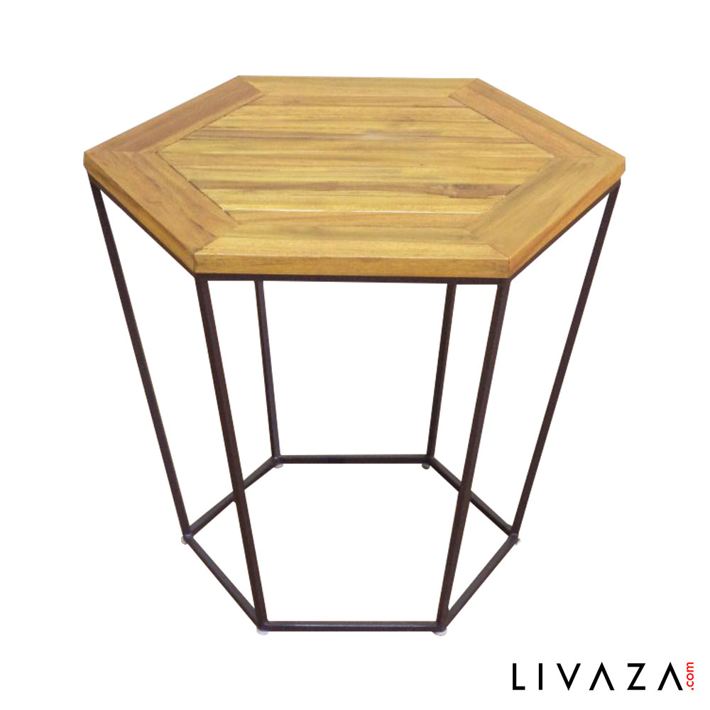 Meja Sudut Enna Side Table by rovega