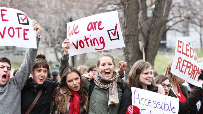 Umur 16 tahun udah bisa ikut pemilu di beberapa negara