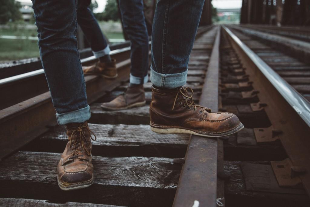 Pakai sepatu boots