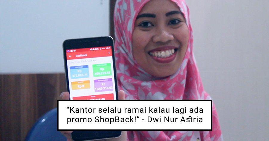 Keseruan Suasana Kantor Dwi Nur Astria Setiap Ada Promo ShopBack