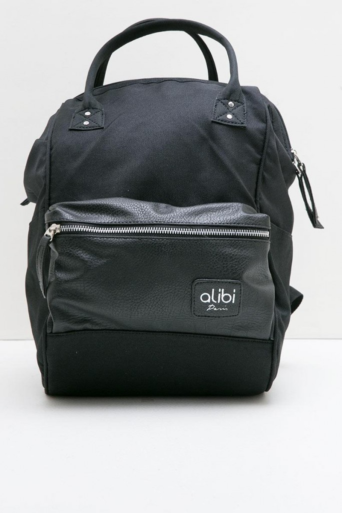 Men Aldric Rucksack Black Alibi Paris