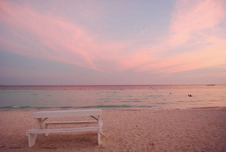 great santa cruz pantai pink